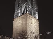 pomysł na nowoczesną wieżę zamku cesarskiegow Poznaniu