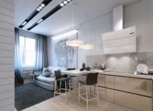 małe mieszkanie, nowoczesne mieszkanie, mieszkanie w odcieniach szarości, jak urządzić mieszkanie