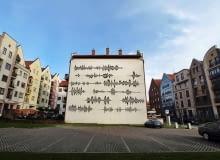 Audiomural w Elblągu
