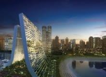 zrównoważone budownictwo, zjednoczone emiraty arabskie, nietypowe, oppenheim, wieżowce