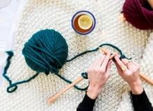 Rzeczy zrobione przy pomocy zestawu We Are Knitters