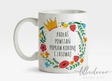 Motywujący kubek dla Pani na chandrę, liladecor/DaWanda, 33 zł