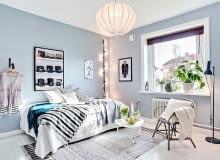 mieszkanie w skandynawskim stylu, małe mieszkanie, kawalerka, jak urządzić małe mieszkanie
