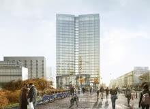 Widok Tower w Warszawie