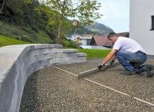 kostka betonowa, układanie kostki betonowej
