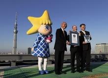 Najwyższa wieża telewizyjna na świecie świecie - Tokyo Sky Tree
