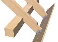 złącza ciesielskie,stalowe łączniki do drewna,konstrukcje drewniane