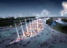 Most Olimpijski, Heneghan Peng Architects