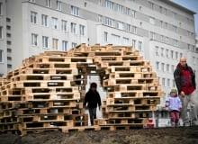 Recyclingowy plac zabaw na warszawskim Targówku