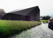 'Czarna skała' - dom jednorodzinny w Bielsku-Białej: projekt