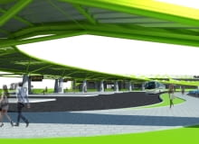 Projekt przebudowy dworca kolejowego w Płocku