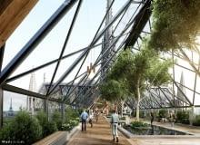 Pomysł Miysis 3D Studio na odbudowę dachu i iglicy katedry Norte Dame w Paryżu.