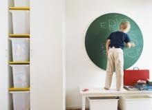 pokój dziecięcy, tablica do malowania, porady