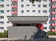 Blok z osiedla Bolesława Chrobrego w Poznaniu