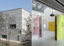 Muzeum Bauhausu w Weimerze. proj. Heike Hanada.
