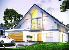 Wybór domu z użytkowym poddaszem jest czasami podyktowany koniecznością, np. wymogami planu miejscowego. Jeżeli mamy możliwość wyboru, warto jednak unikać takich rozwiązań. Bo niezwykle trudno trafić na udany projekt domu z poddaszem mieszkalnym.