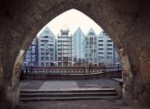 Wizualizacje kompleksu Deo Plaza, który powstaje na północnym cyplu Wyspy Spichrzów w Gdańsku