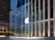 Apple, Nowy Jork, Steave Jobs, Design, szklany dom