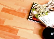 barlinek, podłoga, brzoza