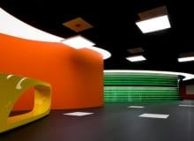 Mediaplaza, Liong Lie Architects, holandia