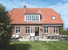 dom w szkole, dom w skandynawskim stylu