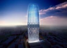bukareszt, rumunia, zaha hadid, wieżowce, Dorobanti Tower