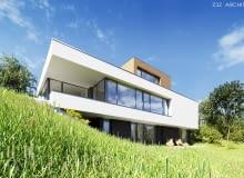 Dom na Słowacji, nowoczesny dom, projekt domu