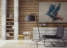 dodatki, drewno, mieszkanie, trendy,