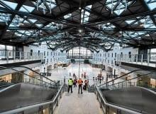 2.12.2016 Lodz . Podziemny dworzec kolejowy Lodz Fabryczna . Fot. Tomasz Stanczak / Agencja Gazeta