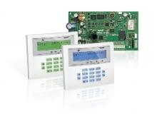 Centrala alarmowa Integra-128 WRL i manipulatory INT-KLCDL-BL/GR