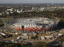 Stadion Narodowy z lotu ptaka