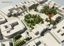 wizualizacja plac litewski remont rewitalizacja przebudowa