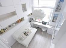 małe mieszkanie, kawalerka, wystrój wnętrz, urządzanie wnętrz