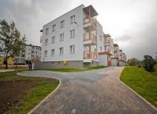 Nowe bloki komunalne w Białymstoku przy ul. Borsuczej