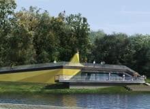 Kawiarnia nad jeziorem Maltańskim w Poznaniu