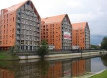 aura gdans, wyspa spichrzow, gdansk, projekt, apartament