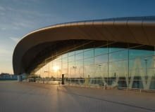 lotnisko, jasionka, rzeszów, foto, terminal