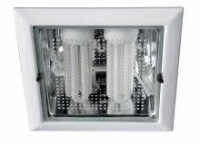 59796/31/10 PLANETA LAMP/MASSIVE; materiał - metal; kolor - biały; źródło światła - świetlówki kompaktowe; moc 2×15 W, 22×22 cm; Cena: 76 zł
