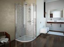kabiny prysznicowe, kabina prysznicowa, wyposażenie łazienki, łazienka