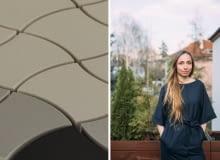 Maja Ganszyniec autorską nowej kolekcji płytek Ceramiki Paradyż