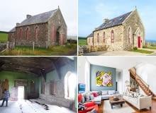 kaplica, dom w kaplicy, ciekawy dom