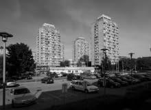 Sedesowce we Wrocławiu, czyli zespół mieszkano-usługowy przy placu Grunwaldzkim we Wrocławiu, proj. Jadwiga Grabowska-Hawrylak, lata 60. XX wieku