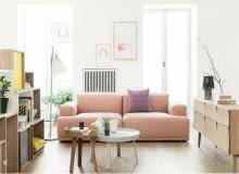 Modne mieszkanie - pastele we wnętrzach
