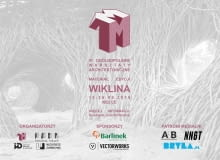 1M3 - ogólnopolskie warsztaty architektoniczne w Kielcach. Plakat promujący wydarzenie.