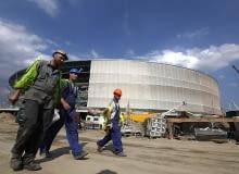 Stadion we Wrocławiu nabiera kształtów