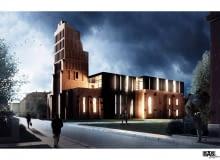 Adaptacja ruin kościoła w Głogowie na Centrum Kultury