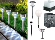 Solarne lampy ogrodowe