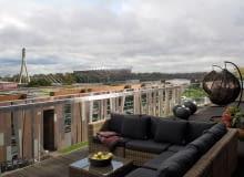 Mieszkanie na Powiślu z imponującym widokiem
