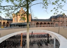 Garaż dla 4000 rowerów, Groningen, Holandia, proj. KCAP Architects & Planners, 2007, fot. www.kcap.eu