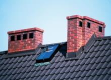 kominy wentylacyjne, dach, komin, kominy